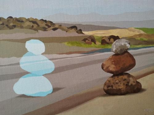Transparante steen