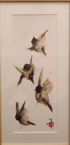 Uit serie 'vogels'.