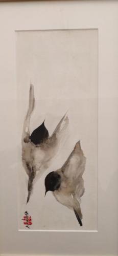 Uit serie 'vogels'. Verkocht
