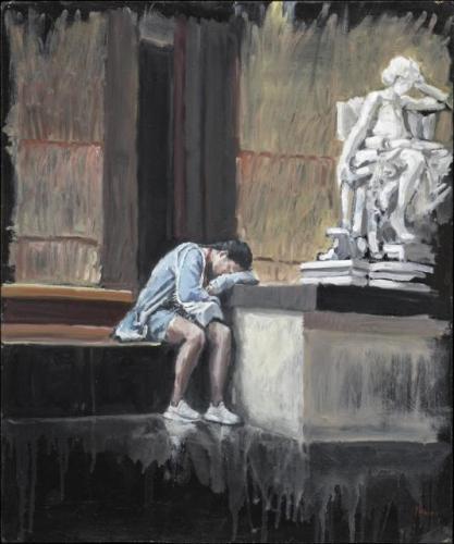 Musée d'Orsay. Dit schilderij is bij een liefhebber van kunst terecht gekomen. Mooi man.