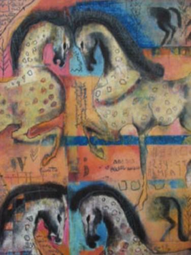 Etrurian war horses